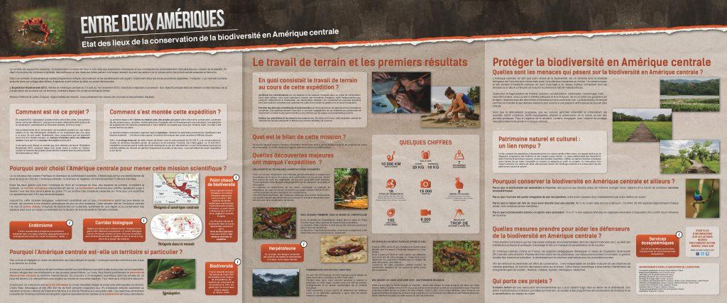 Entre Deux Amériques - Expo - Panneau intro