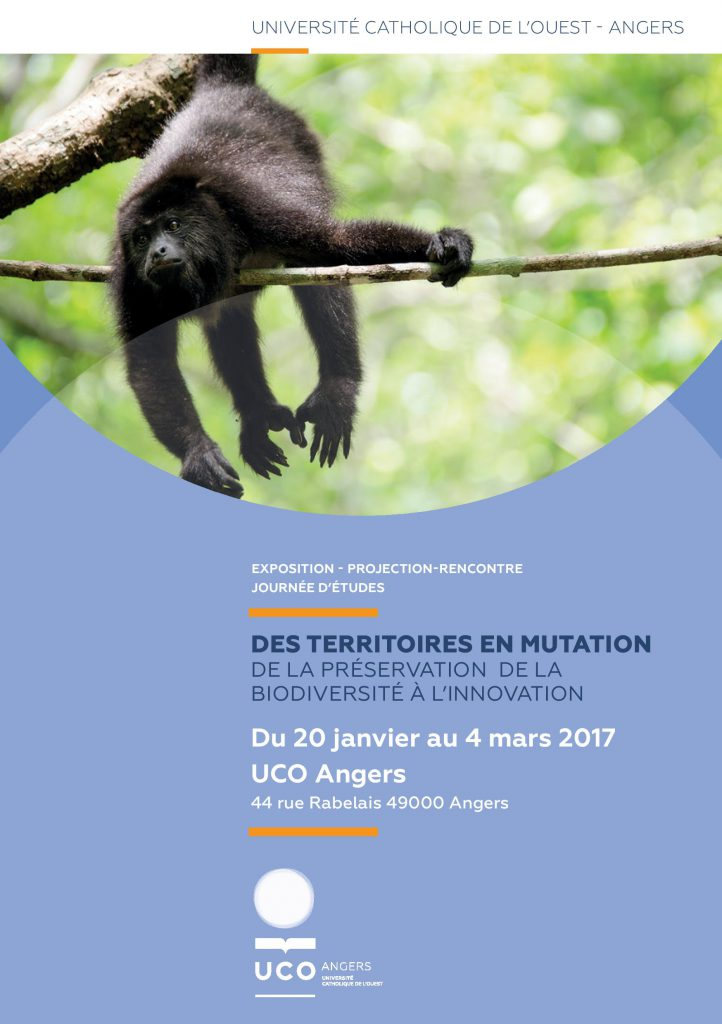 Entre Deux Amériques - Angers - UCO 2017 Flyer