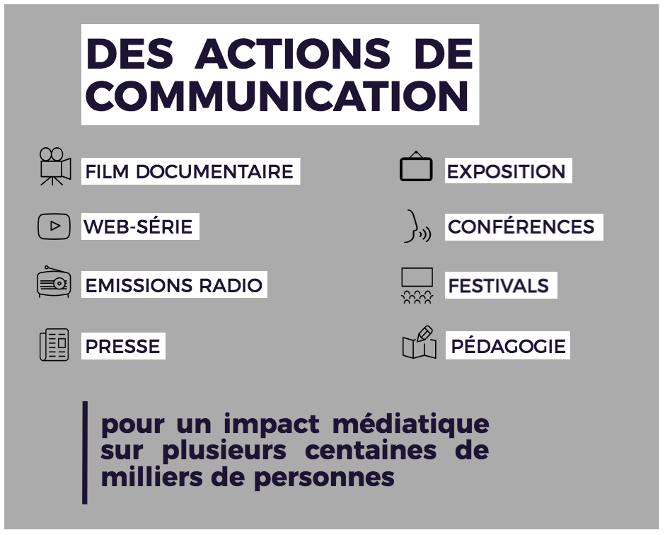 Makay 2017 - actions de communication
