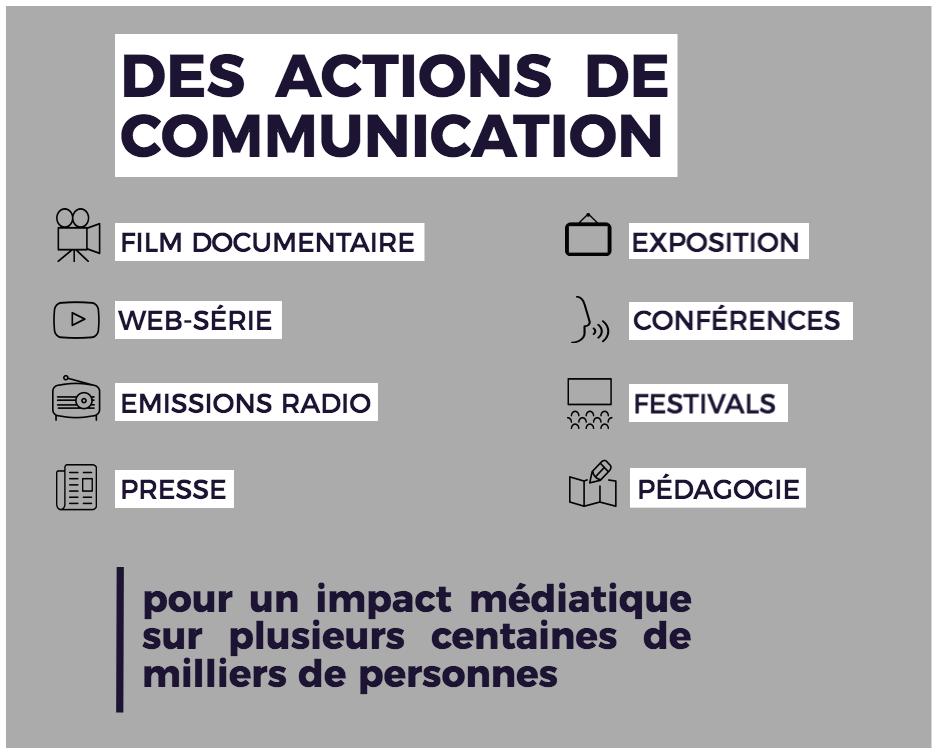 Makay 2017 - actions de communication