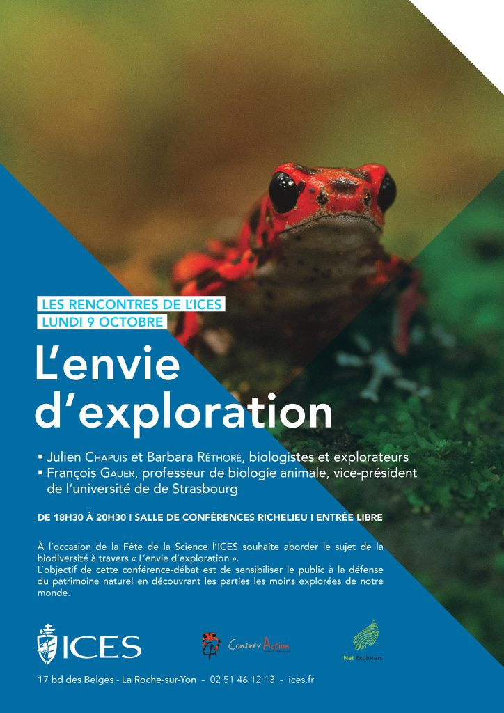 L'envie d'exploration - NatExplorers - ICES