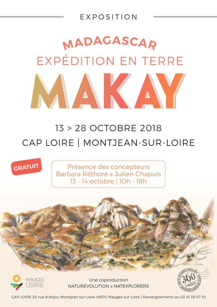 Exposition Makay - 360° à l'Ouest