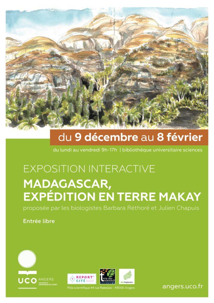 UCO Angers - expo Makay