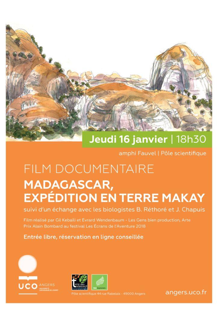 UCO Angers - film Makay