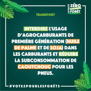 Zéro Empreinte Forêt - transport