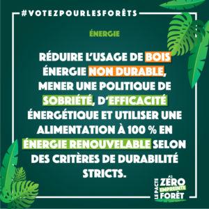 Zéro Empreinte Forêt - énergie